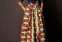 Ethnic fashion and global trend / Outfits made from African fabrics and patterns paired with modern accessories and western accents are a powerful combination that show great fashion sense. Check out what I mean
