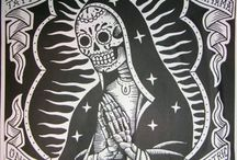 Old school tattoo - Lady Guadalupe