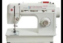 Aprendendo usar máquina de costurar