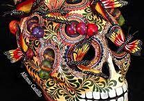 El dia de muertos Mexico
