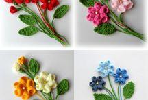 Цветы объёмные