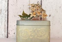 Trinket Boxes / Beautiful boxes to keep your keys, jewellery and other bits & bobs in...