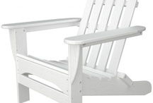 Eco-Friendly Patio Furniture / Eco-Friendly patio furniture from Polywood. These products are made from recycled milk jugs and are 100 percent recyclable. They feature beautiful colors and are similar to wood in weight.