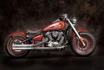 Custom Bikes & Bobbers / Custom Motorcycles, including bobbers