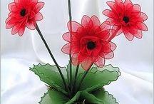 tül çiçek