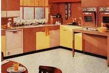Retro Floors / Fun vintage and retro decorating and flooring ideas