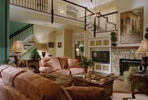 Family Rooms / Every home needs a natural gathering spot for family time. Homes by Judd Builders provide spacious, comfortable, luxurious living rooms perfect for creating lasting family memories.