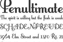 Fonts, Paper