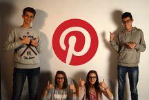 GRUPPO SOCIAL MEDIA / Quest'anno il gruppo social media si occupa della gestione di Pinterest. Seguiteci e condividete :)