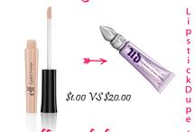Make-up DUPES! / by Steffanie Smith