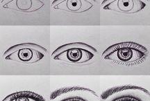 Szemek rajzolása
