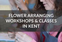 DIY Wedding Flowers / Take a look at my YouTube channel for my series of 'How to' flower arranging tutorials, practical ideas and tips to create beautiful DIY flower arrangements and crafts at home