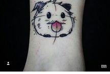 Poro tattoo