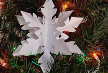 Paper Snowflakes and More / I started making paper snowflakes back in the early 1990s. I've always enjoyed snow - but amazingly cut paper snowflakes are the best. I'm in the process of starting http://make-paper-snowflakes.com - and am seeing here on Pinterest a ton of people I'd love to feature. Snowflakes are cool.