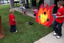 flames/hockey birthday party