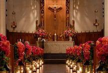 Pomysł na dekorację kościoła
