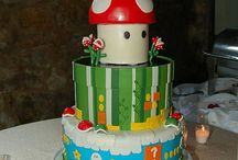 Fun Video Game Birthday Cakes!  / Cakes, cupcakes and cake pops with a Video Game Theme.  / by Rolling Arcade