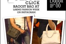 Click! Click!Get out your cameras for Baggit! / As you all know that your Most Loved Bag Brand - #Baggit, is an Official Bag Partner in #Lakmefashionwk Summer/ Resort 2014. Dates: 12-16 March 14'  To Participate in our Instagram Contest, follow @Baggitworld on Instagram & then click a Picture of a Baggit Product you Spot at the #LakmeFashionWeek & Post it on Instagram by hashtagging it with #Baggit and #Lakhmefashionwk. Three People with the Best Pictures will be lucky to Win Awesome Baggit Goodies.T&C apply.