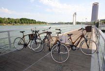 Diseño y Bicicletas / Bicicletas con cuadros fabricados en madera