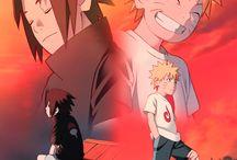 Naruto Uzumaki a Sasuke Uchiha