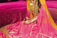 Engagement / Mehndi outfits