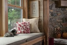 Living Rooms | Strongwood Log & Timber Homes