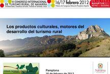 100  CONGRESO TURISMO  NAVARRA- TURISMO RURAL  PAMPLONA  PRESENTACIONES / CONGRESO TURISMO  NAVARRA- TURISMO RURAL  PAMPLONA  PRESENTACIONES  Presentaciones expuestas en los Congresos celebrados en   #Pamplona