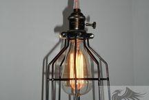 Cage Tel Kafes Aydınlatma / Modern ve dekoratif aydınlatma ürünleri