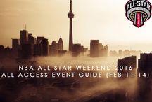 NBA ALL STAR GAMES TORONTO 2016