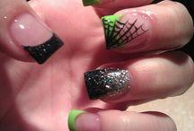Halloween nails / Nail inspiration