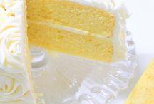 Lemon cake form scratch