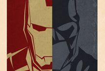 Batman and Iron Man