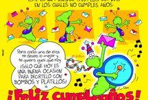 Feliz cumpleaños / by Silvia Villegas