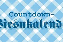 oktoberfest / Ein Countdown-Kalender um die Wartezeit auf den Anstich zu verkürzen!