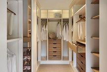 Walk in wardrobe joinery