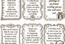 Card phrases