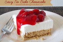 To Bake- Cheesecake