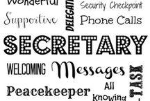 Secretariële dingetjes en nog wat...