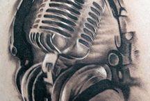 DJ Tattoo Ideas