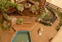 dollhouse outdoor decoration