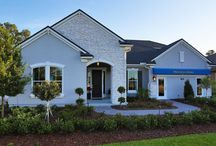 The Hendry Model / The HENDRY Model Home by Providence Homes is located 138 Bronson Parkway, St Augustine, FL 32095 in Markland.  This spacious 100% ENERGY STAR® Certified model home as shown features 4 Bdrms, 3 baths, 3,486 Sqft, with an optional bonus room and full bath plus a 1st floor game room and oversized covered patio. The open concept kitchen, family and dining space with easy access to the covered patio offers plenty of options for the entire family. ProvidenceHomesInc.com