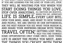 Quotes / Sitater - dikt og ta med seg
