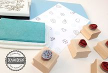 Rubber Stamping and Handstamped Cards