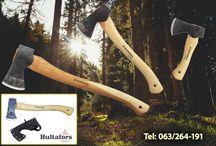 Hultafors - švedske ručnokovane  sekire