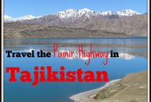 I ♥ Tajikistan Travel / If you're looking for an off the beaten path destination Tajikistan is it! My adventures travelling through Tajikistan - fascinating cultures and stunning scenery from the streets of Dushanbe to the wild Pamir HIghway.