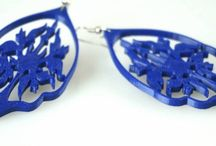 MyMiniFactory Earrings / All Earrings are 3D Printable and available for free download on www.myminifactory.com