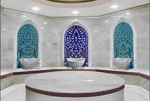 Türk hamamı iznik çinileri dekorasyon fikirleri dekor tasarım &turkish bath hexagon tiles interior bathroom hammam decoration / Kütahya, turk hamami, çinisi , çini, Hand made, dekorasyon, cini, seramik, desenler, iznik, pano, mimari, tasarım, Osmanlı, Türk hamami, bathroom ceramic tiles, interrior, design, ottoman, decoration, decor, islamic, Turkish bath, special tiles mosaic decorative çinileri