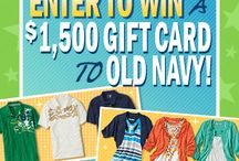 sweepstakes & contests / by Tammy Chapman Fretueg