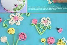 kwiatki  ruloniki