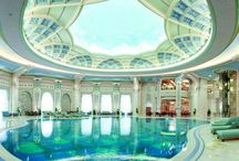 Indoor Hotel Swimming Pool / An indoor swimming bath offers the posh of year-round #indoorpool enjoyment similarly as privacy. 